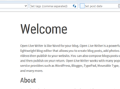 Open Live Writer passe version 0.6.2.0