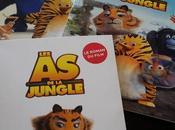 jungle roman film l'album autocollants