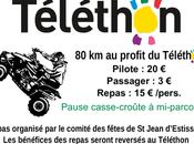 Rando Quad Téléthon Jean d'Estissac (24), novembre 2017