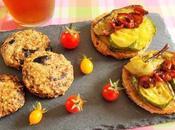 Apéro dimanche Sablés olives Tartines légumes d'été (Vegan)