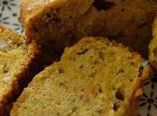 cake pois chiche carottes cumin (sans lait gluten)