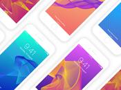 beaux fonds d'écran formes géométriques votre iPhone