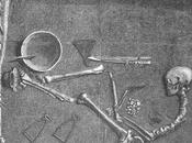 célèbre tombe d'un guerrier Viking était celui d'une guerrière