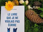 Erwan Larher livre voulais écrire