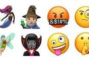nouveaux Emojis 11.1