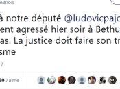 non, @ludovicpajot s'est fait agresser #antifa #CQFD