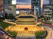 voyage découverte dans endroits touristiques coréens
