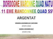 Rando Téléthon quad Dordogne Maronne Quad Nature Argentat (19), décembre 2017