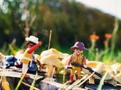 Playmobil Stories piste champignons géants