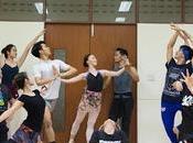 Divertissement funéraire l'honneur Bhumibol: ballet Manohra (répétitions)