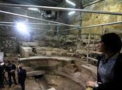structure l'époque romaine découverte pied Lamentations