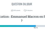 Est-ce Parisien fait trop Macron