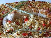 Filet mignon basilic risotto four