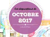 disparitions Octobre 2017