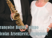Piano Saxophone Salle Gaveau novembre avec Françoise Buffet Nicolas Arsenijevic