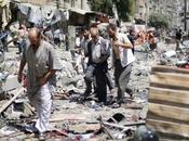 Syrie dépôt d'aides alimentaires zone rebelle visé bombardements aériens