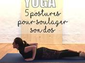 postures yoga pour soulager
