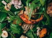 Salade Panzanella d'Automne Potimarron Rôti