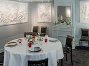 Grand Véfour Martin confie salon privé l'artiste Claudine Drai