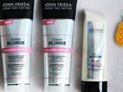 Test avis gamme pour cheveux blonds Brilliantly Brighter Sheer Blonde John Frieda