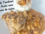 Dinde Tandoori fruits secs noix cajou