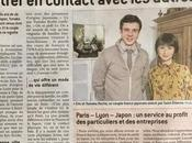 Paris-Lyon-Japon interviewé Tribune Progrès