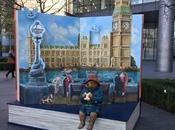 traces l'ours Paddington Londres (2017)