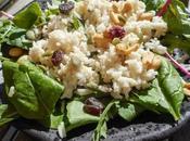 Salade riz, comment utiliser restes riz?