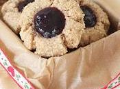 Biscuits Noël vegan sans gluten confiture l'arachide