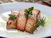 pavé saumon sauce creme l'ail Ours