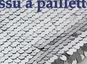 Coudre tissu paillettes