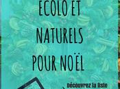 sélection d'idées cadeaux écolo naturels pour Noël