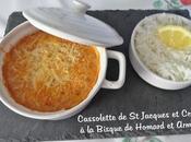Cassolettes Jacques Crevettes Bisque Homard Armagnac