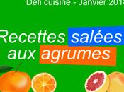 Défi recettes.de recettes salées agrumes
