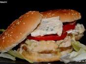 Burgers Bresse Bleu l'oignon fumé.