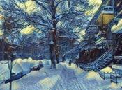 Variations bordée neige
