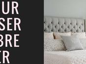 Hiver trucs pour harmoniser chambre coucher