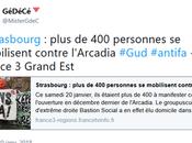 Stop verrues fascistes fRance, fermeture #Arcadia #Strasbourg