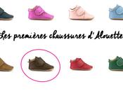premières chaussures d'Alouette