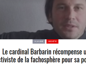 #Barbarin s'enfonce encore diocèse #Lyon récompense auteur fasciste