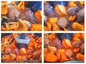 Boeufs carotte, champignon l'actifry