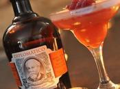 Cocktail Framboizine rhum Diplomatico
