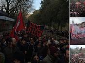 vague fond contre front #Macerata #antifa