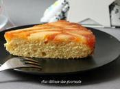 Gâteau renversé poires épices