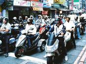 Virée scooter Taïwan