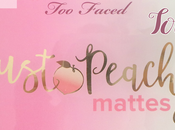 avis palette Just peachy mattes faced