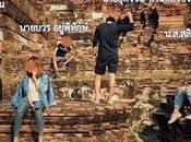 Ayutthaya, l'escalade ruines: Facebook commissariat