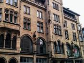 Moninger Karlsruhe: bâtiment Nouveau motifs mythologiques nordiques.