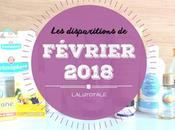 disparitions Février 2018
