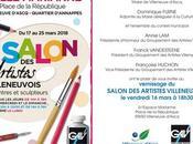 Salon 2018 Groupement Artistes villeneuvois